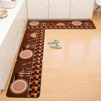 Home kitchen waterproof non-slip carpet mats bathroom toilet matsliving room Hall bedroom door mat