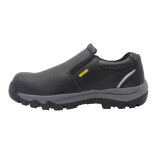 House LEEDS Safety Shoes Microfiber Leather Black   eu43/us9