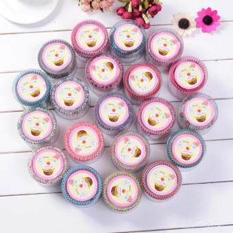 iBelieve High Temperature Mini 100Pcs/set Cake Decorating ToolsPaper Cupcake Greaseproof Baking Cups
