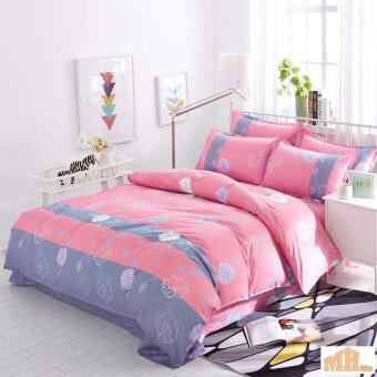 Maylee High Quality 4pcs Happy Flower Queen Bedding Set (FM-HF)