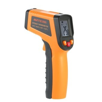 Meterk -50~400?C 12:1 Portable LCD Non-contact IR Infrared Thermometer Temperature Measurement Pyrometer with Backlight