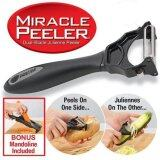 Miracle Peeler 2 in 1 Julienne Peeler with Bonus Mandoline Included