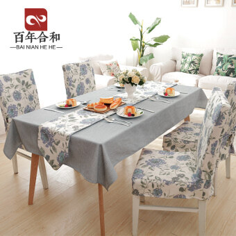 Modern dining chair cover home stool sets table seat cover chair cover