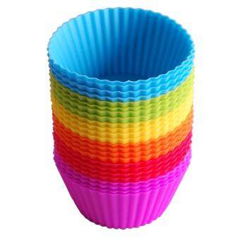 Reusable Silicone Baking Cups Cupcake Liners - Muffin Cups CakeMolds Baking Tools