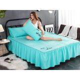 SLEEP ALL DAY  Premium Solid Plain Bed Sheet Queen Size