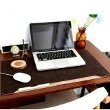 SOKANO Multifunctional Mouse Pad for Laptop and PC- Dark Brown