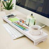 SOKANO Multipurpose Keyboard And Desk Organizer- White