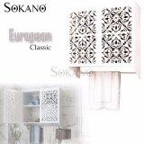 SOKANO WF017 Water Resistance European Classic Style Wooden Bathroom Toilet Storage Cabinet Storage Rack with Towel Rack