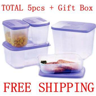 Tupperware FREE SHIPPING FREEZERMATE 5pcs Set (My FirstFreezermate)
