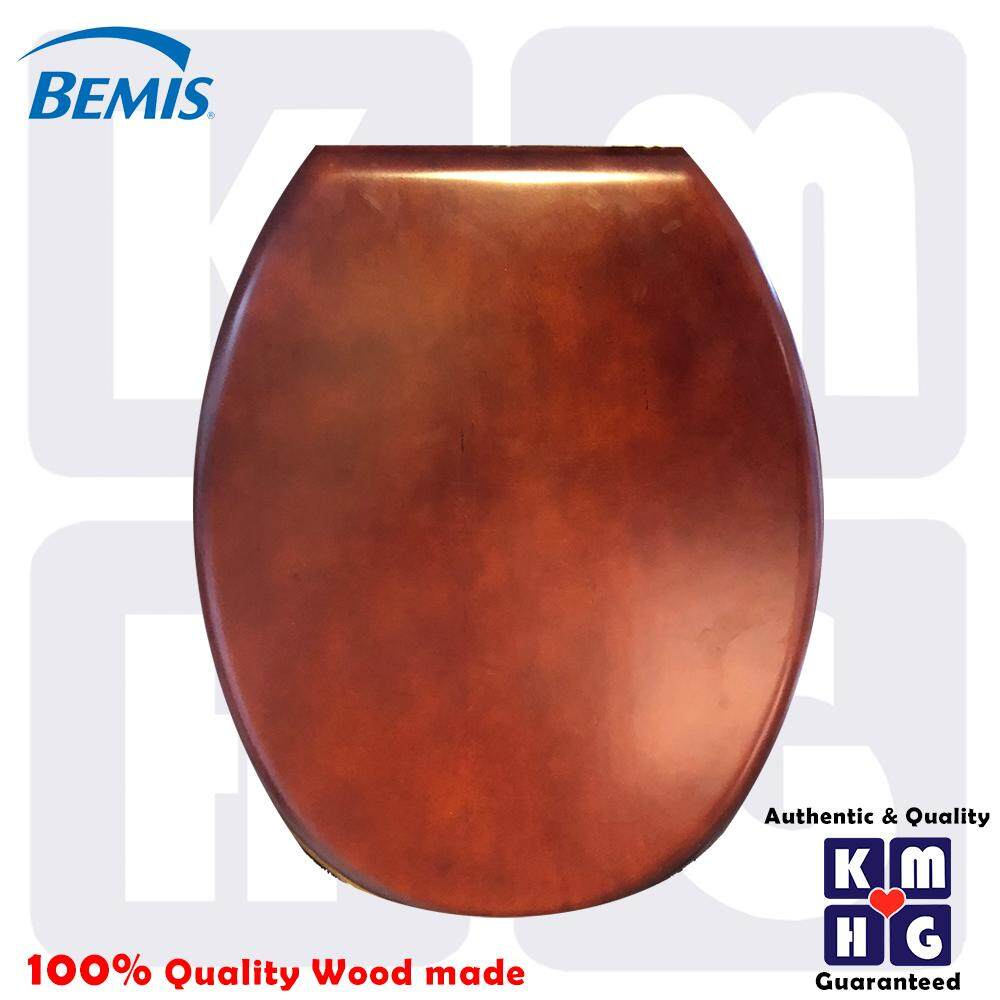 BEMIS U.K. - Nature Reflection Wood Toilet Seat Cover  High Quality Premium Washroom Bathroom Water Closet Jamban Tandas Duduk Mangkuk Home Furniture Fixtures Accessories Vintage Unique Special Stylish Luxury
