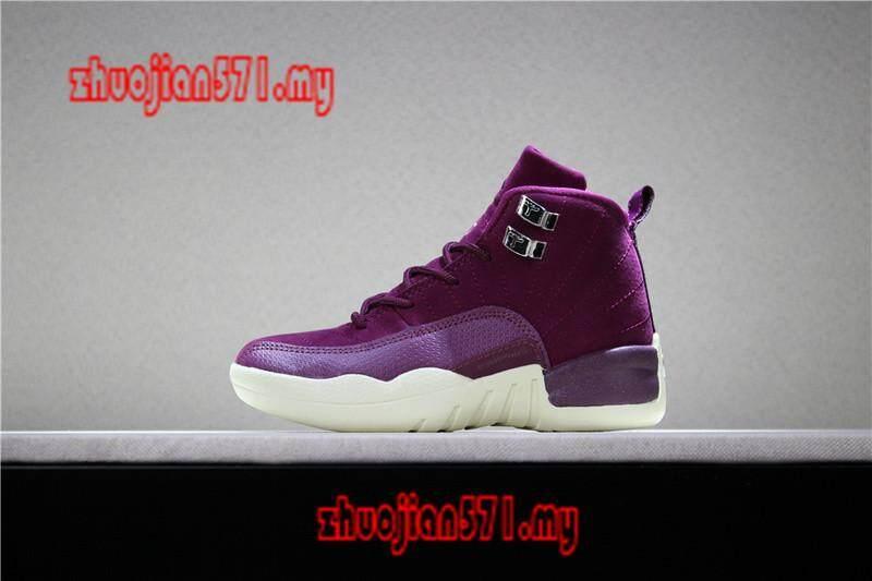 Deal Ưu Đãi Original_Nike_Air_Jordan_12_Retro_Kids_Boys_Girls_Sports_Basketball_Shoes_Sneakers_AAJJ481