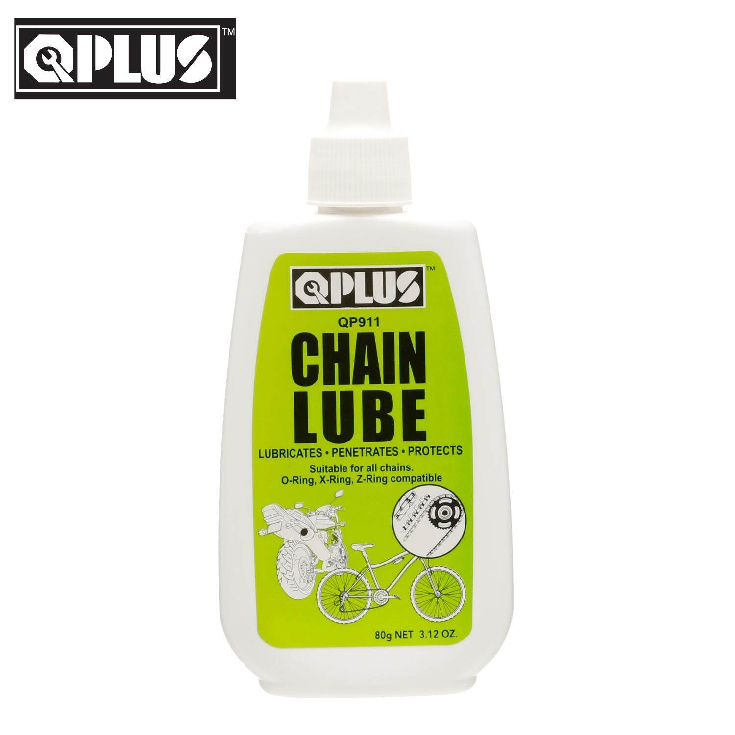 QPLUS QP911 CHAIN LUBE/ DRY LUBE/ OIL LUBRICANT FOR MOTORCYCLE & BICYCLE (80GM)