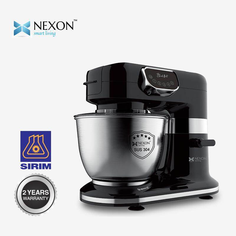 NEXON STAND MIXER 6L/1000W STAINLESS STEEL ROTATEABLE BOWL