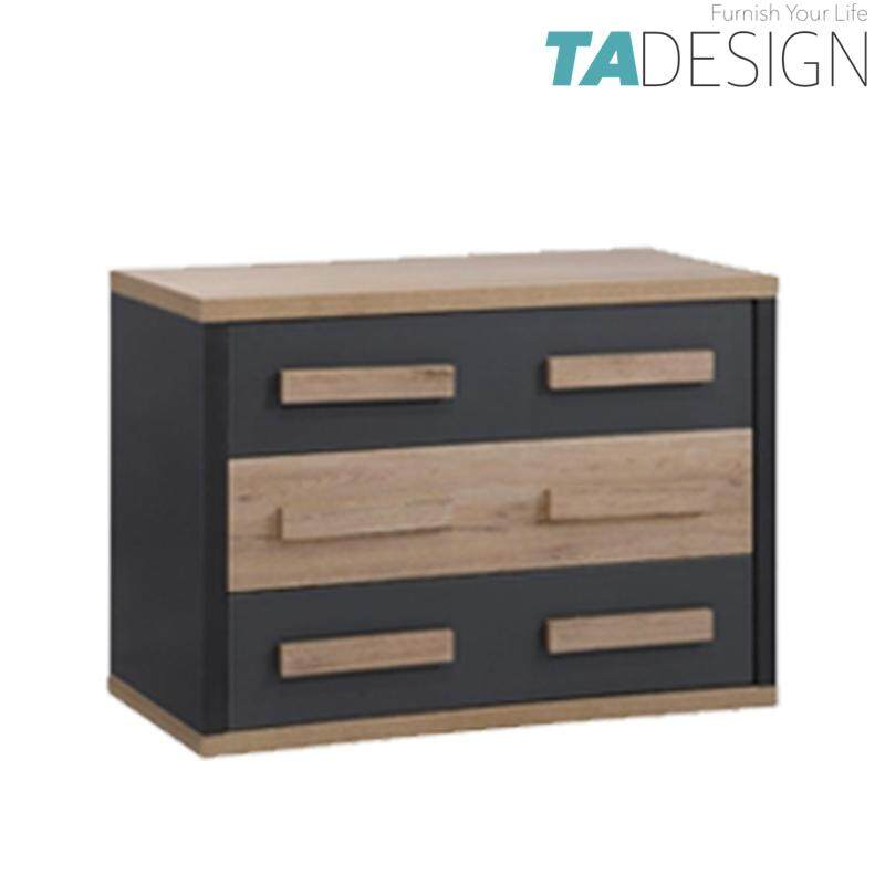 TAD KOBI 3 drawer chest drawer chest of drawer size: W80xD40xH60cm