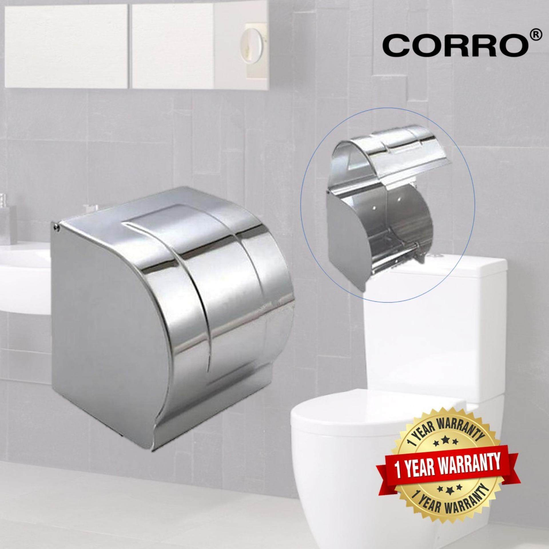 CORRO High Quality SUS304 Stainless Steel Bathroom Paper Holder
