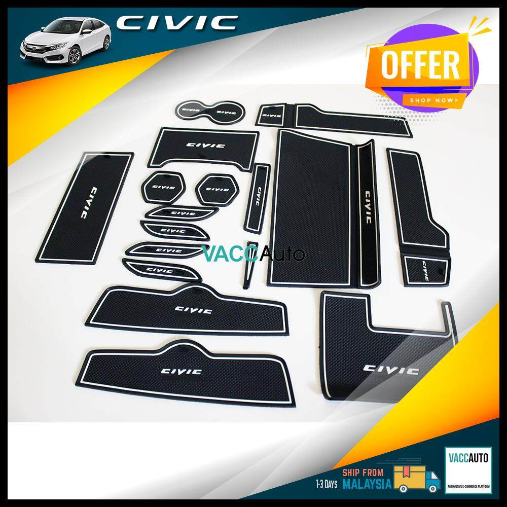 Honda Civic 2016-2019 Anti Slip Rubber Mat