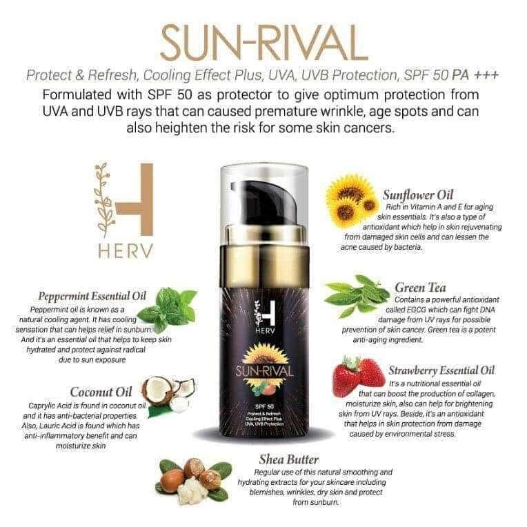 HERV SUN-RIVAL 20ML