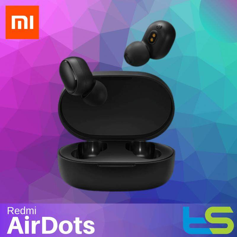[Original] Xiaomi Mi Redmi AirDots Bluetooth Earphone Headphone Wireless TWS Headset - Earbuds Smart AI Mijia Air Dots Dot (TWSEJ04LS)