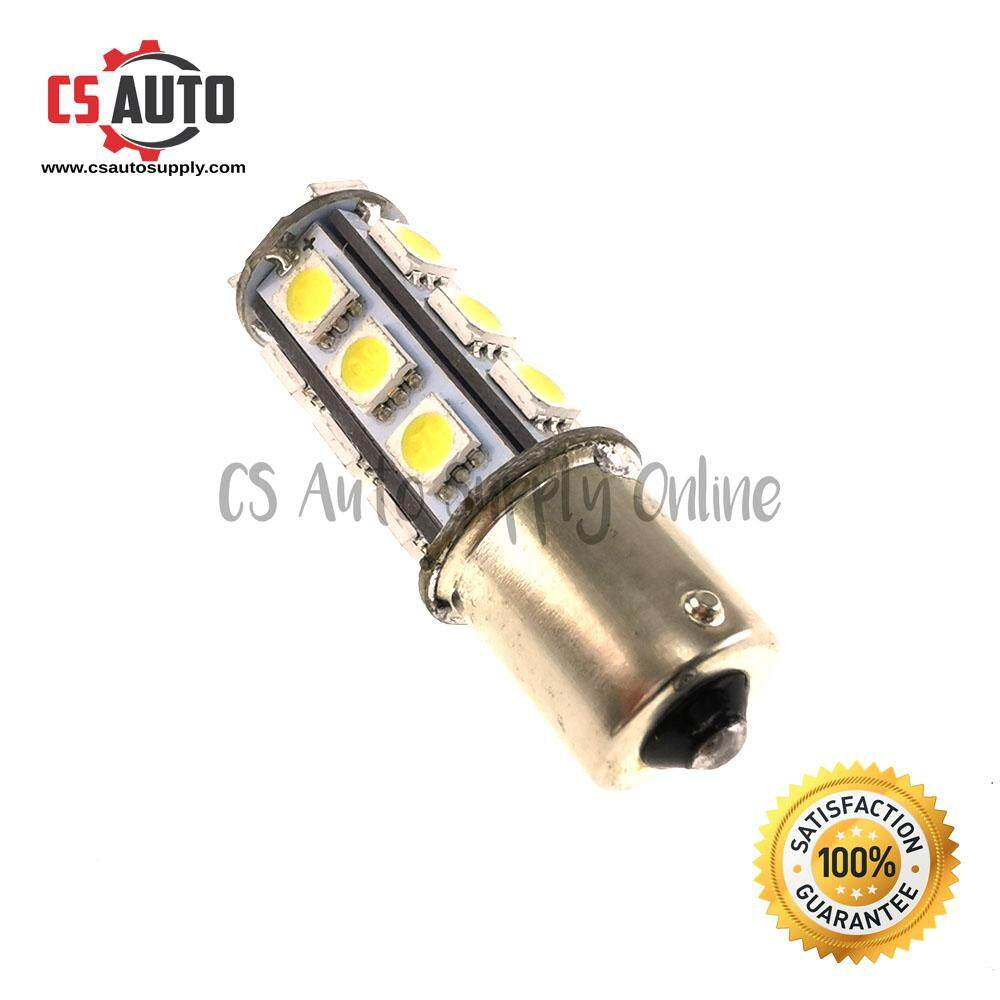 [cs auto] Led 1141 24V 1156 Bulb White for Lorry Truck Signal Tail Light 18smd ready stock (1pc)