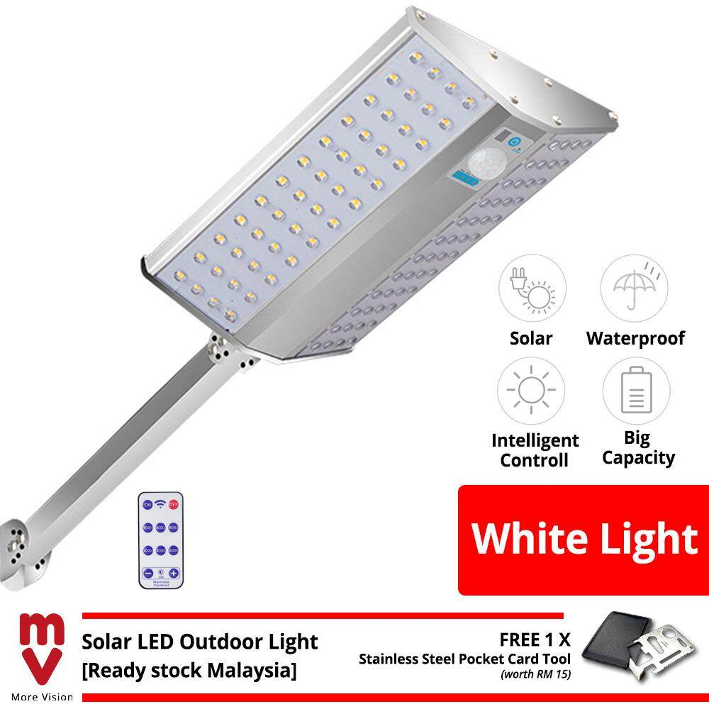 96 LED Solar LED Outdoor Light Lampu Solar For Wide Area Garden