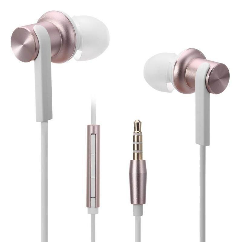 Xiaomi Mi Piston Earphones HD Quantie In-Ear Hybrid Earbuds Headphones - Gold