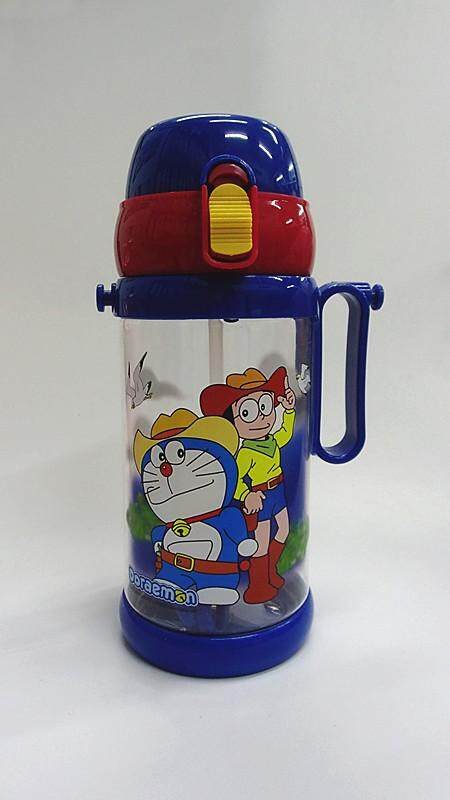 650ML Cartoon Water Bottle BPA Free Water Tumbler Drinking Bottle Cup (BGJAYA)-Doraemon
