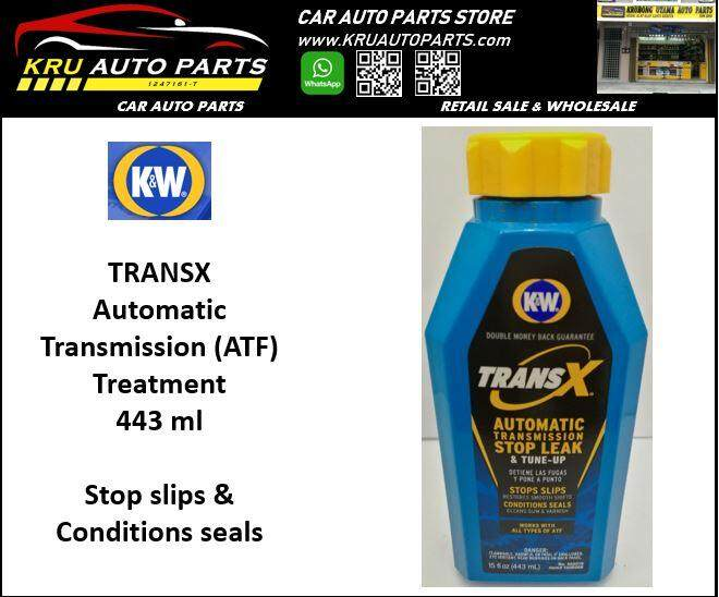K&W TransX automatic transmission stop leak & tune up (444ml)