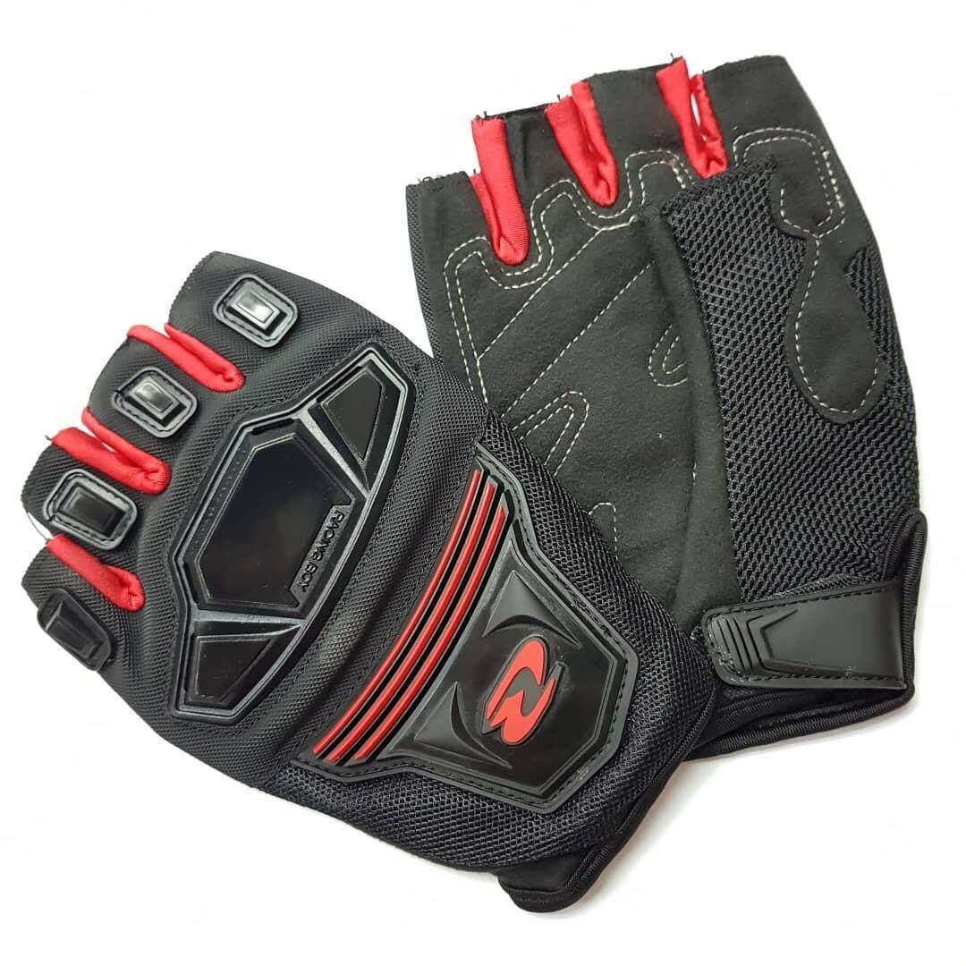 Original Racing Boy MC24D Half Finger Glove ( Sarung Tangan )