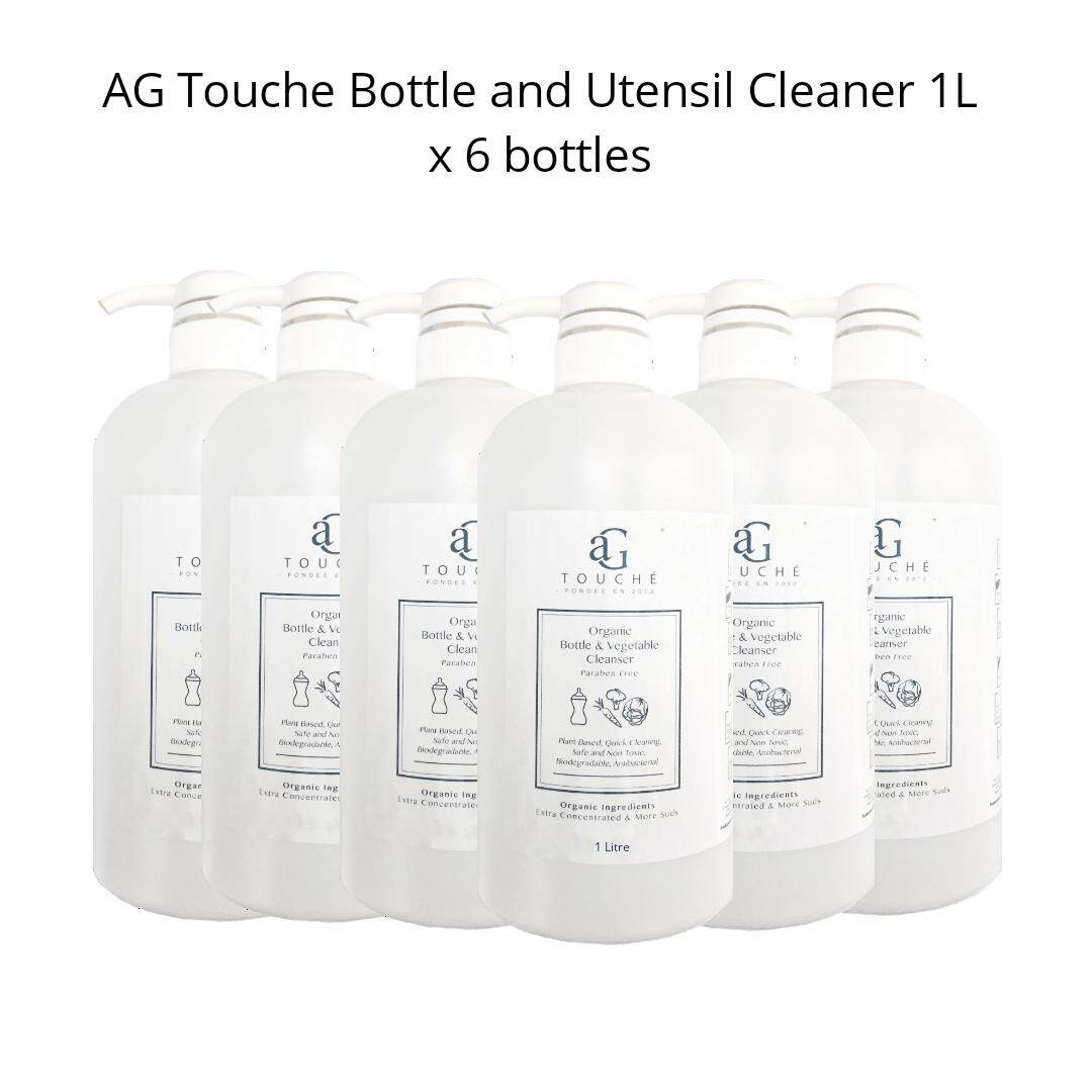 AG Touche Baby Bottle & Utensil Cleanser 1Litre [6 for RM90!]