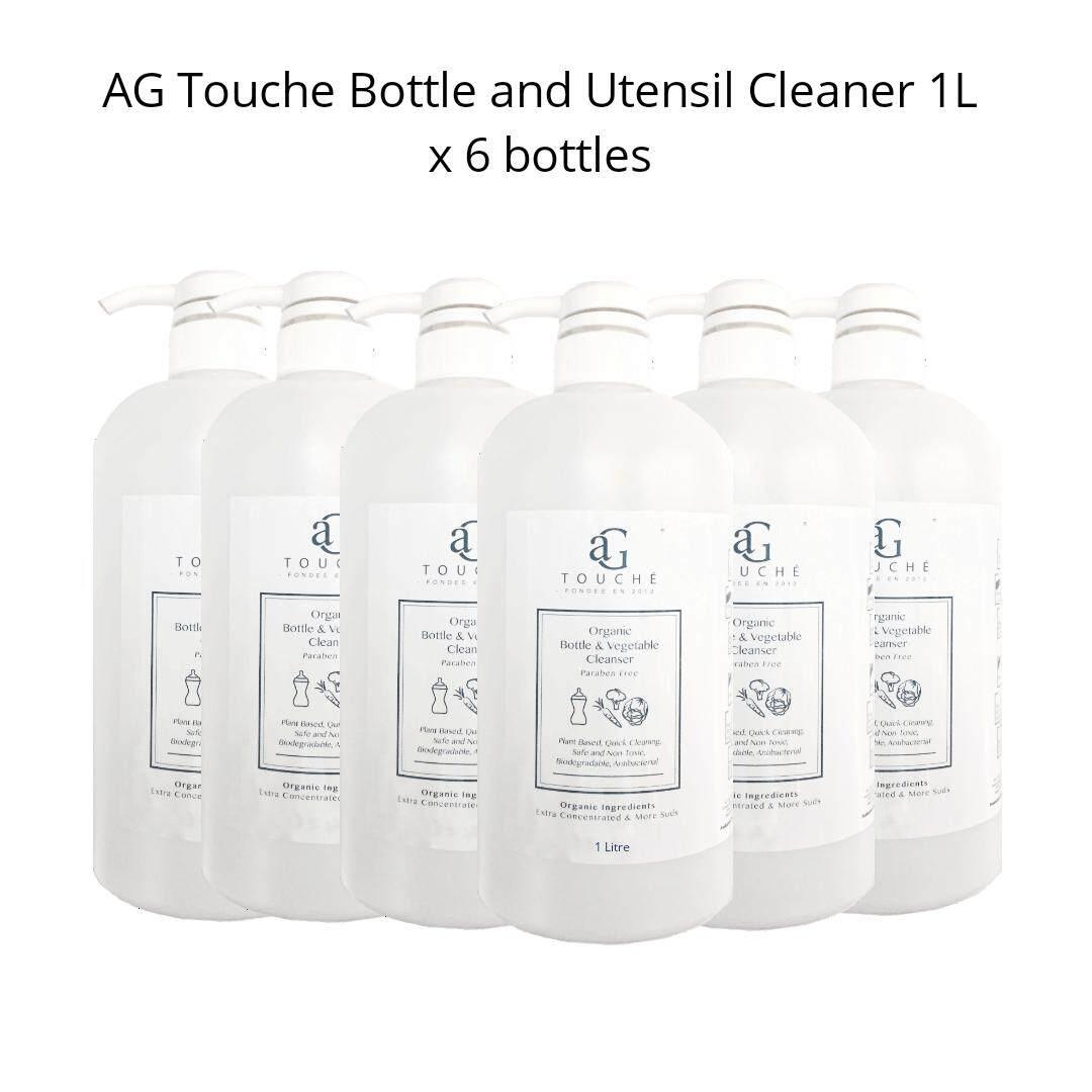 AG Touche Baby Bottle & Utensil Cleanser 1Litre [6 for RM90!]