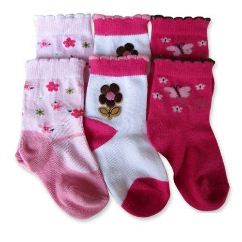Bumble Bee 3 Pairs Pack Butterfly Love Socks (S0086L)