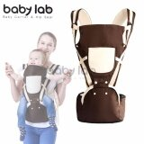 Baby Lab 1605 Baby Carrier and Hip Seat (Suitable for 0-36 months) - Brown
