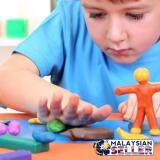 [BROWN] Playing Dough Fun & Imaginative soft textured  clay toys for girls -