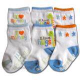 Bumble Bee 3 Pair Pack I Love Mommy Sock (S0040)
