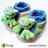 Bumble Bee Cute & Fun Animal Rattle Booties - Frog (RT0016)