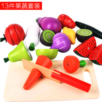 Cut fruit honestly music magnetic over every family fruit toys