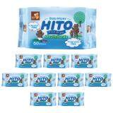 Hito Baby Wipes 60' for Teeth & Gums, 10packs / bundle