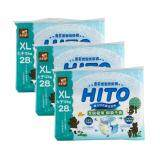 Hito Ultra Thin Baby Drypers, XL 28', 3packs / bundle