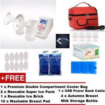 Lacte Duet Electric Double Breast Pump + FREE GIFTS + CHEAPESTSHIPPING