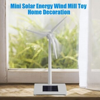 Mini Solar Energy Wind Mill Toy Kids Children Science Teaching ToolHome Decoration