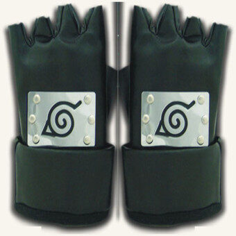 Naruto ninja-Konoha ninja gloves-Kakashi-Naruto-smallcherry-Sasuke-COS cosplay accessories spot