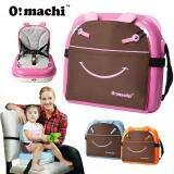 OMachi 2 in 1 Portable Baby Booster Seat and Mummy Carrying Storage Bag - Pink