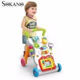 SOKANO 2 in 1 Multifunctional Baby Walker With Music and Educational Toy
