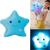 SOKANO 7 Colour Changeable LED Light Stuffed Pillow- Star Shape Blue toys for girls