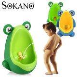 SOKANO Frog Design Potty For Kid and Toddler Toilet Training Kit - Blue