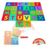 SOKANO TOY 29cm x 29cm EVA Foam Kid and baby Crawling Puzzle Play Mat- Alphabet Design (26 pcs) toys education