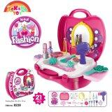 SOKANO TOY 8228 Fashion Girl Beauty Make Up Kids Role Play Pretend -Pink toys for girls