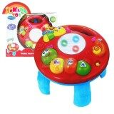 SOKANO TOY TOT Kids 2 in 1 Musical Baby Learning Table- Butterfly baby toys