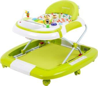 Sweet Heart Paris BW Safari Baby Walker (Green)