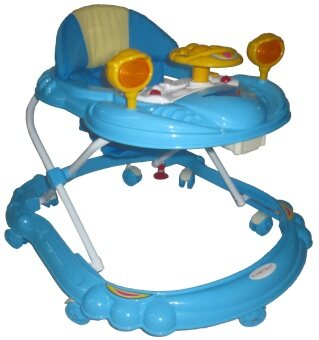 Sweet Heart Paris BW314 Baby Walker (Blue)